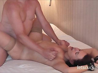 Cockold Fit together Making Out Hubby Films - female parent
