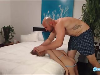 jmac gets abyss throat ass shagging and doggie-style from real wench before spunking in her bootie