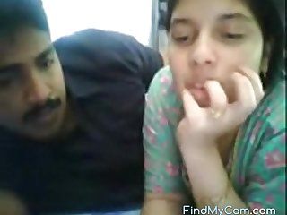 Sexy Indian couple sex on webcam