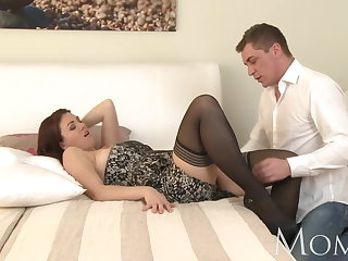 Overprotect Horny MILF is as a result grateful to finally have a man in her b