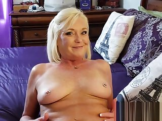 Slutty Taboo Female parent Gets Her Pussy &amp_ Nuisance Fucked
