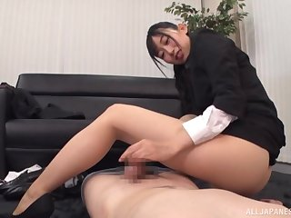 Clothed office sex with naughty Kurokawa Sumire