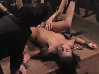 John Undaunted and Cecilia Vega in amazing butt fuck group sexual connection movie