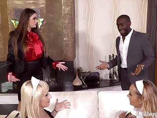 Anal Hardcore Sluis Adore Black Male Pole - ANALDIN
