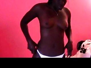 African GF Anal Creampie