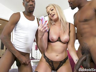 Slutty blonde wife decides to go black memorandum latest
