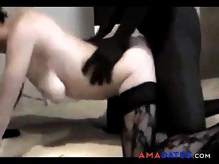 scopata da un nero