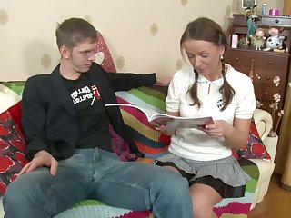 russian schoolgirls anal preparation 1 scene 4