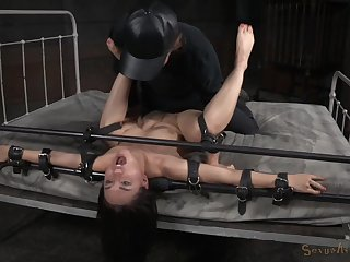 Rough thraldom slave breeding boxing-match be proper of submissive Gabriella Paltrova