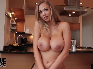 Very Busty Auric Model Hot Merely