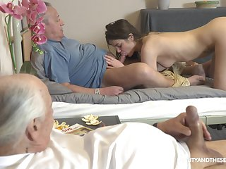 Teenager suits old man's lustful dream