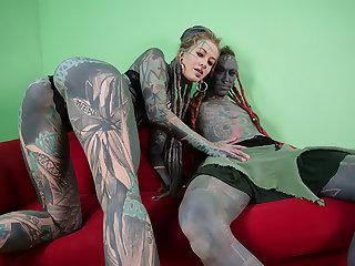 Tattooed Artists Fuck