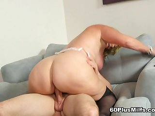 Cock Collateral - Alice And J Mac - 60PlusMilfs