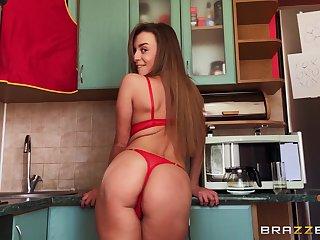 Solo hottie Josephine Jackson drops their way red panties more masturbate