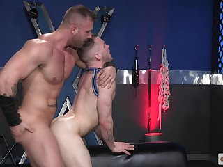 Endless anal lust for a pair be required of vitalized gay lovers